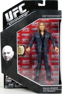 Dana White UFC Ultimate Fighting Jakks Series 9 Deluxe Figure MMA New