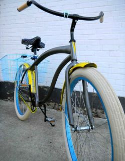 Villy Custom Vintage Retro Beach Cruiser Bike Bicycle