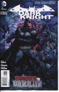 BATMAN THE DARK KNIGHT #8 DC COMICS (2011) New 52