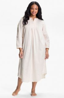 Carole Hochman Designs Cozy Back Satin Nightgown (Plus)