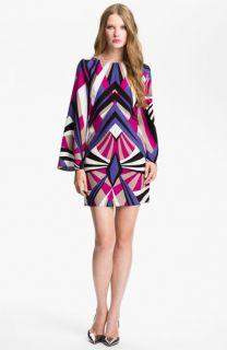 ALICE & TRIXIE Veronica Print Silk Shift Dress