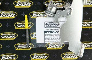99 09 Yamaha XVS1100 V Star Custom Memphis Shades Trigger Lock Mount