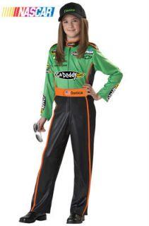 NASCAR Danica Patrick Child Costume Size Large Plus