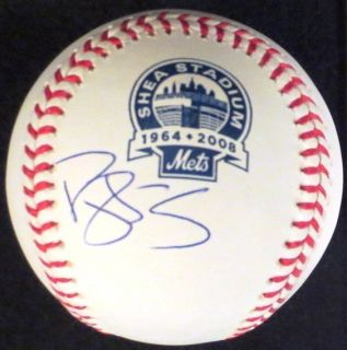 DARRYL STRAWBERRY NEW YORK METS SIGNED AN MLB METS FINAL SEASON