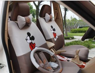 2012 New Cute Mickey Mouse Car Seat Cover