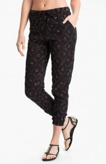Free People Storm Chaser Embroidered Jogging Pants