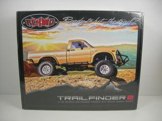 Trail Finder 2 4WD RC Truck Kit w/ Mojave Body Set # RC4ZK0042