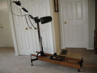 NORDIC TRACK PRO CROSS COUNTRY SKI MACHINE TRAC TRAK SKIER w/ MONITOR