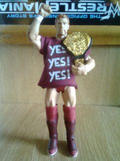 WWE Mattel DANIEL BRYAN T Shirt Belt Ultra Rare Wrestling Figure Yes