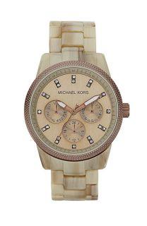 Michael Kors Ritz Crystal Index Bracelet Watch