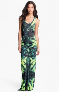 Young, Fabulous & Broke Hamptons Print Racerback Maxi Dress