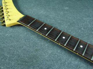 1980s USA Custom Hockey Stick Headstock Guitar Neck