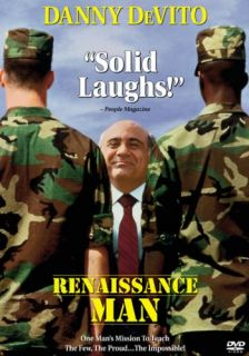 Renaissance Man New SEALED DVD Danny DeVito