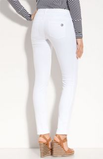 MICHAEL Michael Kors White Denim Skinny Jeans (Petite)