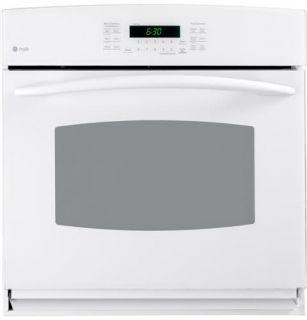 GE Profile White Advantium Five Piece Appliance Kitchen Package