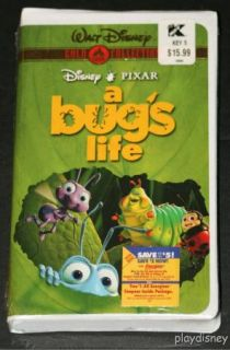 Disney A Bugs Life New VHS Classic Gold Collection