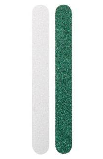Green & Silver Nail Files (2 Piece)