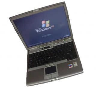 Dell Latitude D610 WiFi Laptop PM 1 86GHz 1GB 80GB DVDROM XPP Free