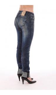 Salsa Jeans Wonder Slim Women Pants Push Up Sz 26 27 28
