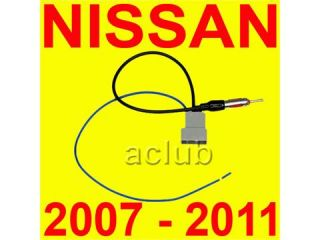 Nissan Aftermarket Radio Antenna Adapter 2007 2011