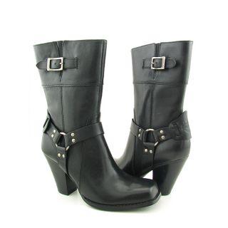 Harley Davidson 84088 Darla Womens Sz 8 5 Black Boots Motorcycle Shoes
