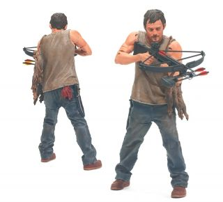 The Walking Dead Zombie TV Series Daryl Dixon 5 Inch Action Figure