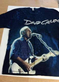 David Gilmour shirt On An Island Medium all over print Pink Floyd