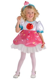 Cupcake Cookie Cutie Treat Halloween Child Toddler 2 4 Costume Girls