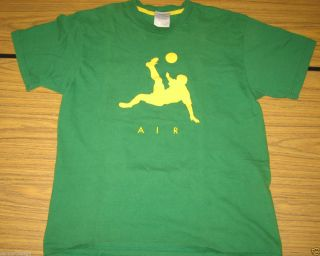 PERFECT BRASIL NIKE AIR Futbol Shirt Size Medium SOCCER Brazil Jersey