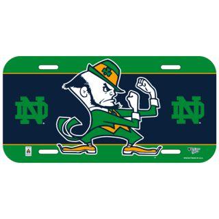 Car Team Logo License Plate Notre Dame Fightin Irish