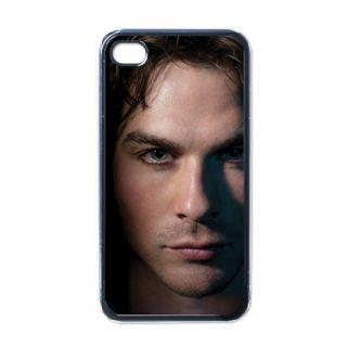 New Vampire Diaries Damon Salvatore Apple iPhone 4 4S Hard Case Cover