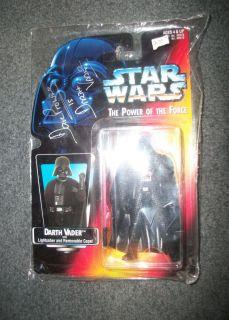 David Prowse Signed Star Wars Darth Vader Action Figure