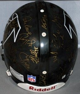 Super Bowl XXXIII 1998 Atlanta Falcons Team Signed Autographed NFL