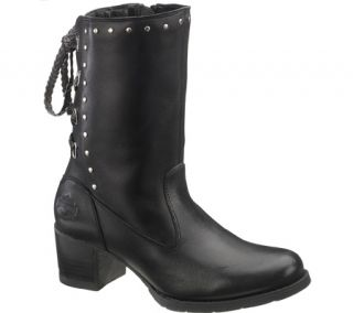 HARLEY DAVIDSON DANTIE WOMENS LEATHER BIKER BOOT SHOES ALL SIZES