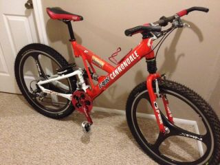 Cannondale Super V 500 SL Full Suspension Mountain Bike 98