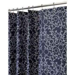 InterDesign Twigz Shower Curtain Black White New Style