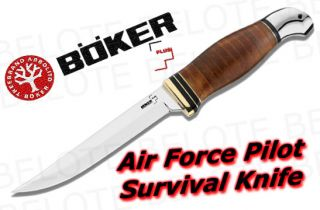 Boker Plus Air Force Pilot Survival w Sheath 02BO155