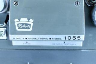 Robers Four (4) rack Sereophonic Reel o Reel ape Recorder; Model