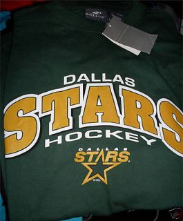 XL Dallas Stars Green Shirt Classic Logo