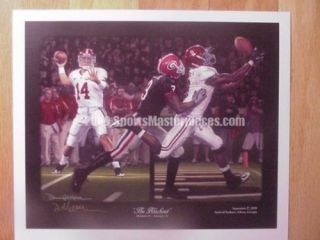 Alabama Crimson Tide The Blackout Print Daniel Moore
