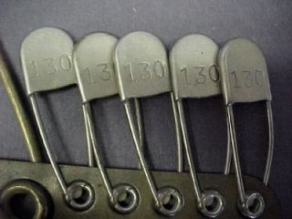 Complete Set of brass Military Laundry Pin(s) 1924 *Keyes Davis*