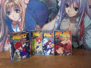 Project A KO Complete Collection Art Box Set Anime DVD US Manga 2002