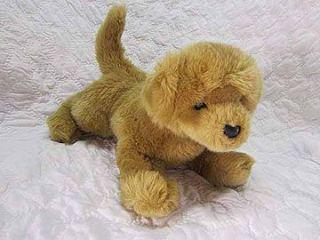 Douglas Tan Plush Stuffed Golden Lab Puppy Dog Soft Cute Animal Doggy
