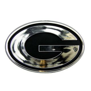Chrome Auto Emblem Car Sticker Silver Logo Vehicle Decal Dawgs