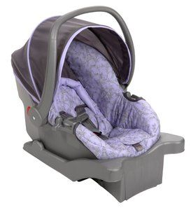 Carry Elite Infant Baby Car Seat Eiffel Lavender IC030AYF