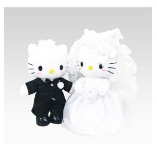 Hello Kitty Bridal Plush Set Hello Kitty Dear Daniel