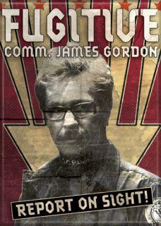 DC Comics Batman The Dark Knight Fugitive James Gordon Magnet