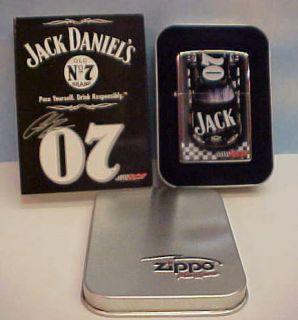 Jack Daniels Daniels NASCAR Racing Zippo Lighter New