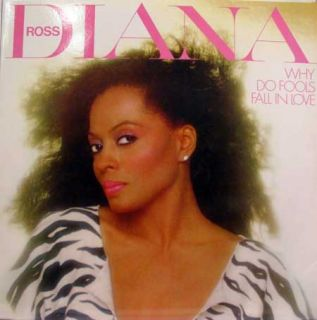 Diana Ross Why do Fools Fall in Love LP Mint AFL1 4153
