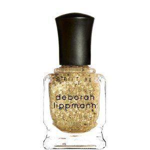 Deborah Lippmann Nail Polish Lacquer 15ml Boom Boom pow Glittery Gold